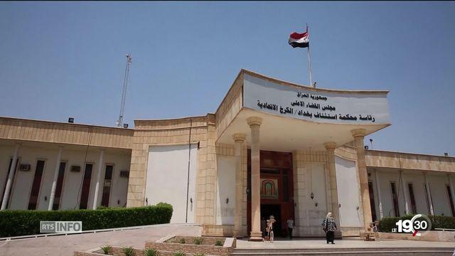 Le sort des djihadistes a un prix. Bagdad réclame 2 millions par condamnation et 1 million pour la peine de mort. [RTS]