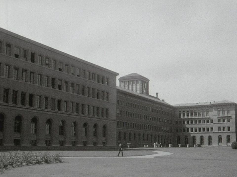 Les bâtiments du BIT en 1969. [RTS]