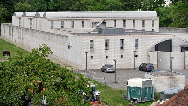 La prison de la Tuilière à Lonay (VD) [Laurent Gillieron - Keystone]