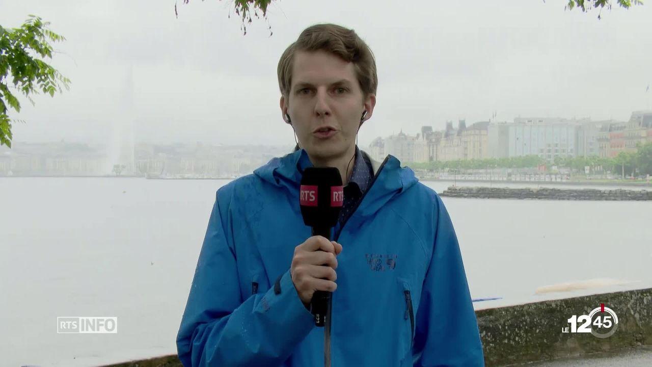 De fortes pluies se sont abattues sur la Suisse. Explications avec Mikhaël Schwander prévisionniste de MétéoSuisse [RTS]
