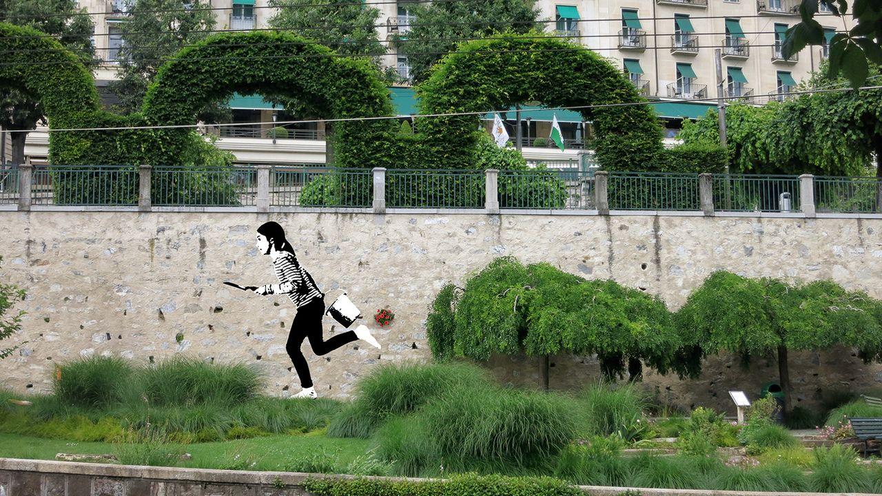 """""""Place to live"""" une image de la manifestation Lausanne Jardins 2019. [lausannejardins.ch]"""