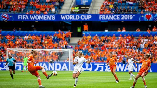 Les Néerlandaises ont fait la différence en toute fin de match. [Peter Powell - Keystone]