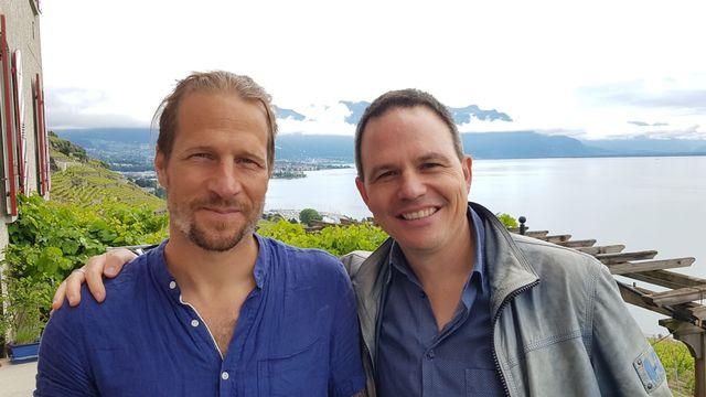 Blaise Hofmann et Jérôme Berney, deux des créateurs de la Fête des Vignerons 2019. Davide Pesenti RTS [Davide Pesenti - RTS]