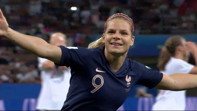 Gr.A, France – Norvège (2-1): la France prend seule la tête du groupe A [RTS]