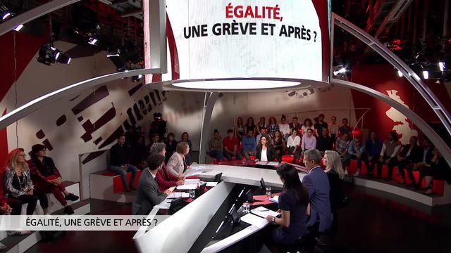 Egalité, une grève  et après? [RTS]