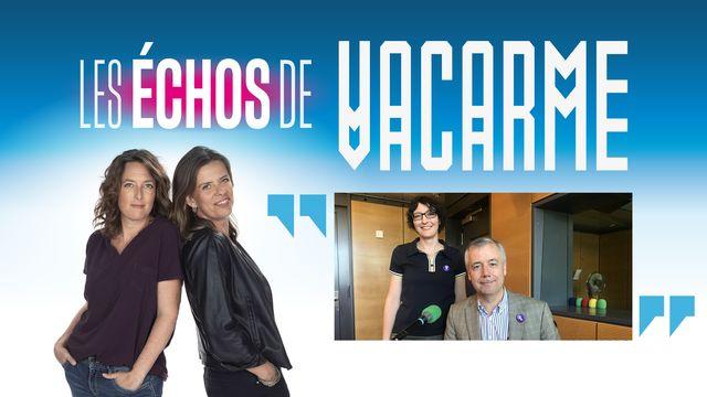 """Le don d'organe dans """"Les échos de Vacarme"""" avec Christine Clavien et Manuel Pascual. [Véronique Marti/motortion - RTS/Depositphotos]"""