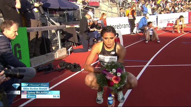 slo (NOR), 400m haies dames: McLaughlin (USA) s'impose, Léa Sprunger 7ème [RTS]