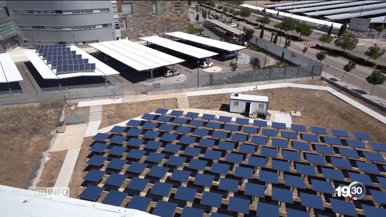 Produire de l'essence ou du kérosène grâce au soleil, c'est une perspective révolutionnaire qui prend de l'ampleur. [RTS]