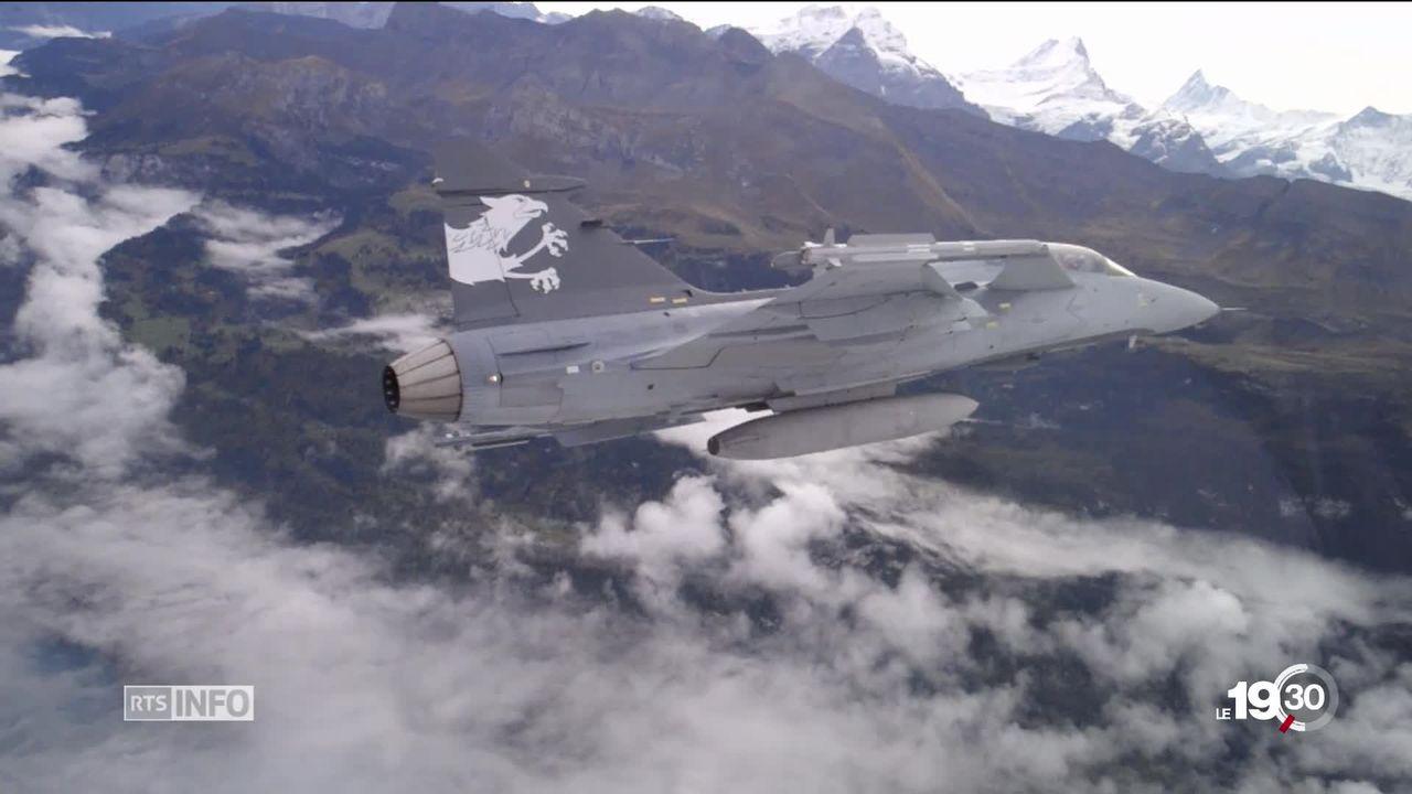 Le Gripen est écarté de l'achat des nouveaux avions de combat. Il ne reste que quatre concurrents dans la course. [RTS]