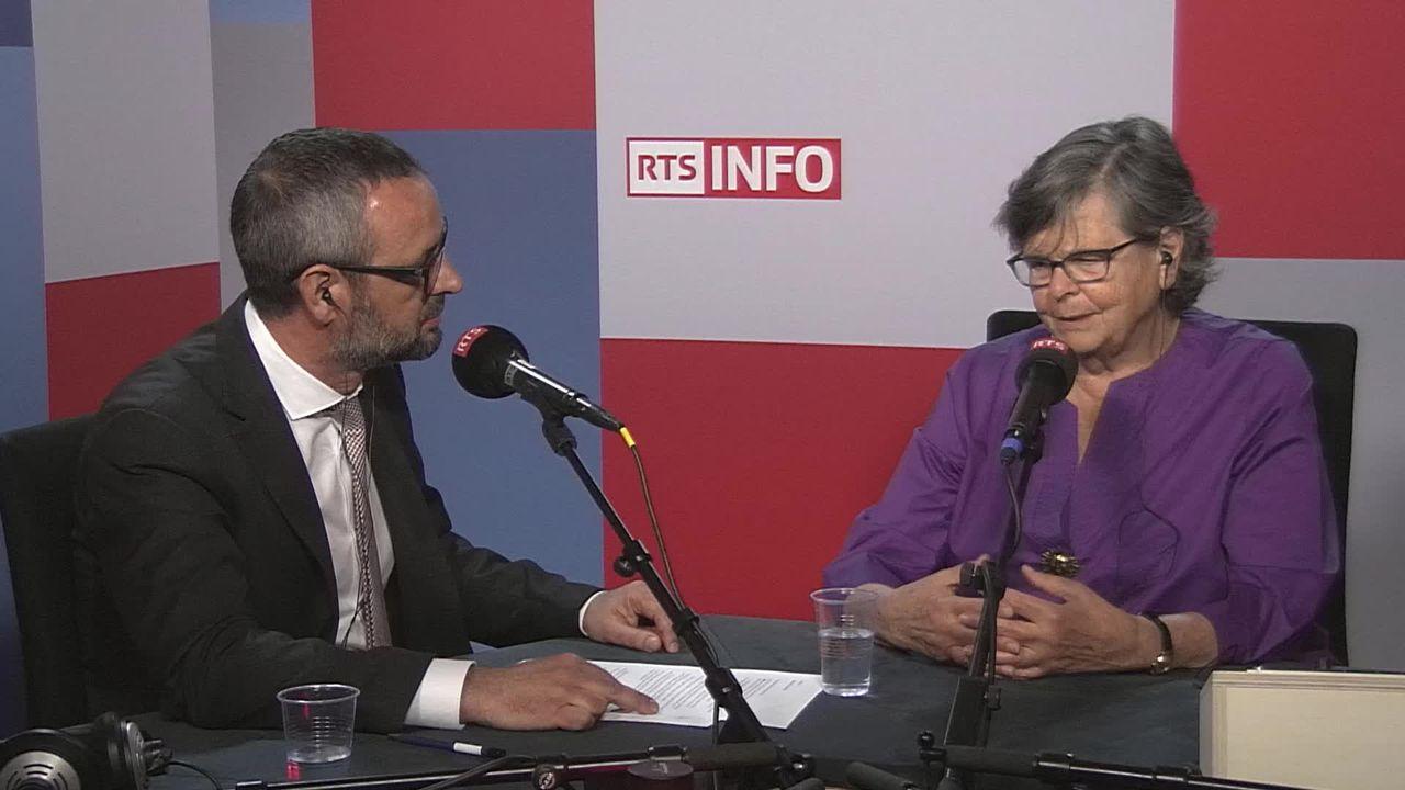 L'invitée de La Matinale (vidéo) - Ruth Dreifuss, ancienne conseillère fédérale [RTS]
