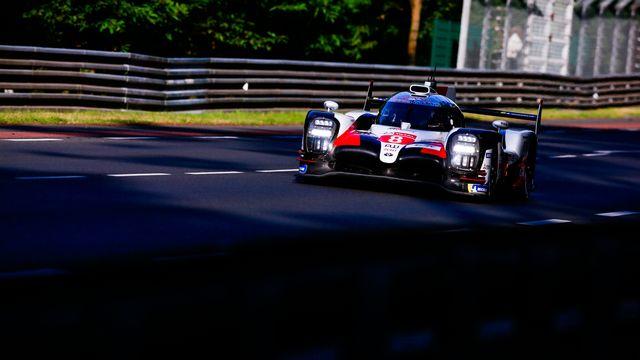 La Toyota no 8 a signé le 2e chrono des qualifications au Mans. [Xavi Bonilla  - AFP]