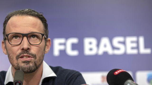 Marco Streller quitte son poste de directeur sportif du FCB. [Patrick Straub - Keystone]
