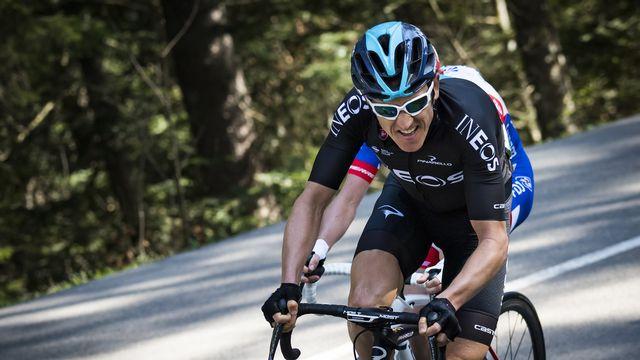 Geraint Thomas est le grand favori du 83e Tour de Suisse. [Jean-Christophe Bott - Keystone]