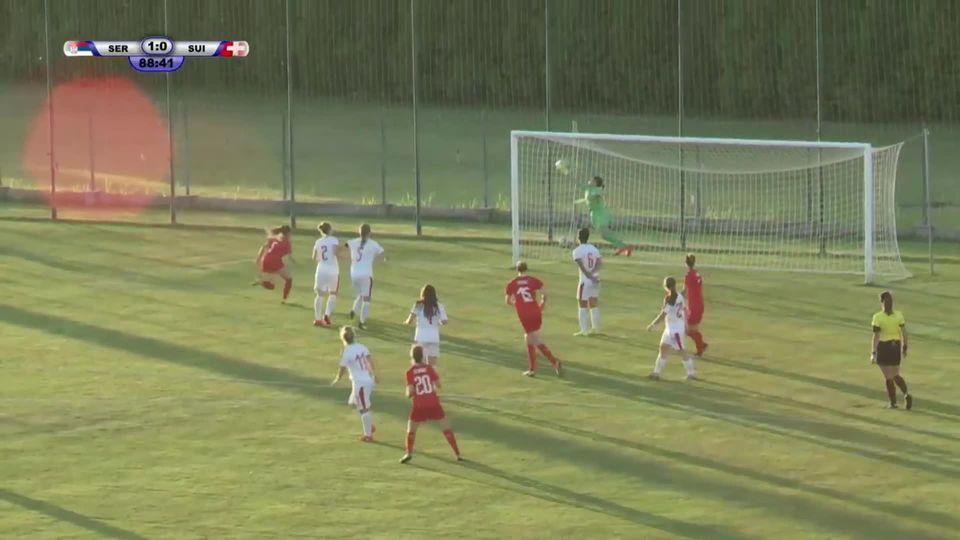 Serbie - Suisse (1-1): les buts de la rencontre [RTS]