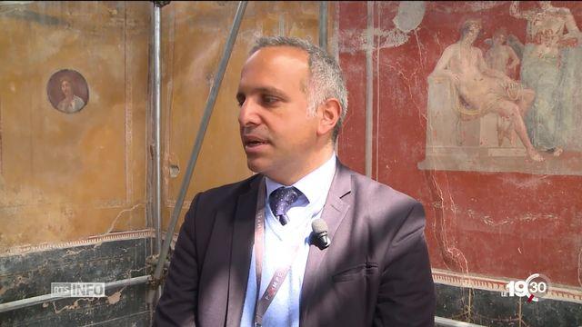 Pompei: de nouvelles fouilles, interdites au public, révèlent des mosaïques exceptionnelles. [RTS]