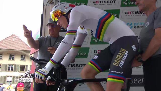 Cyclisme: Rohan Dennis(AUS) remporte la 1re étape du Tour de Suisse [RTS]