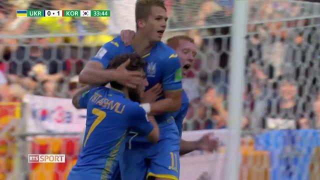 Football, championnats du monde U20: Ukraine - Corée du sud (3-1) [RTS]