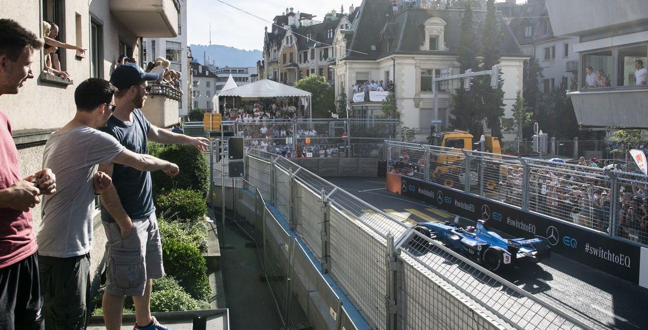 Les rues de Zurich avaient accueilli un e-Prix en 2018. [Ennio Leanza - Keystone]