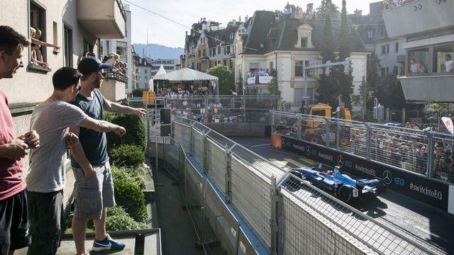 Formule E: pas de course en Suisse lors de la saison 6