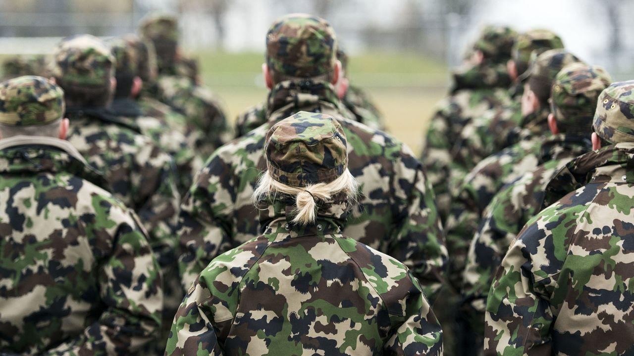 L'armée suisse veut s'ouvrir aux personnes transidentitaires. [Christian Beutler - Keystone ]
