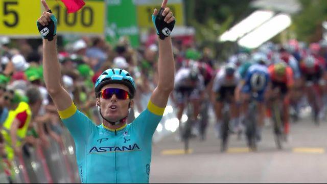 Langnau (SUI), 2e étape: victoire de Luis Leon Sanchez (ESP) [RTS]