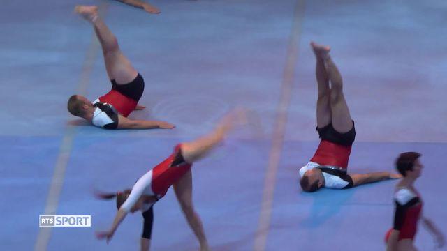 Gymnastique: Fête fédérale de gymnastique à Aarau [RTS]