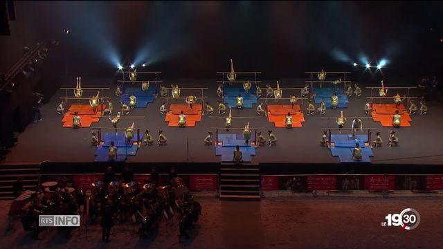 Fête fédérale de gymnastique: 67'000 athlètes réunis à Aarau pour le plus grand événement sportif de Suisse. [RTS]