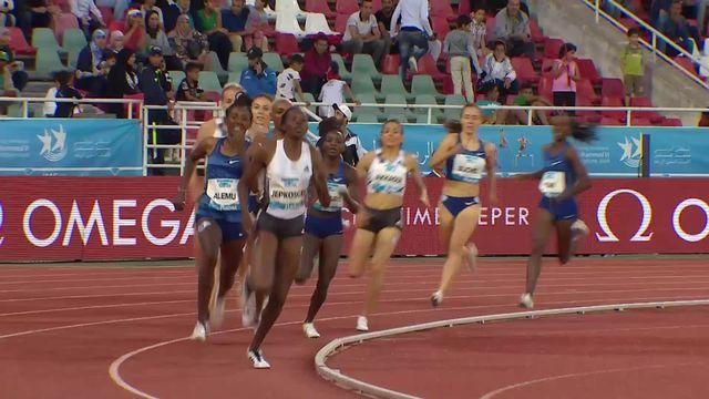 Rabat (MAR), 800m dames: Selina Buchel (SUI) termine 9e de sa course [RTS]
