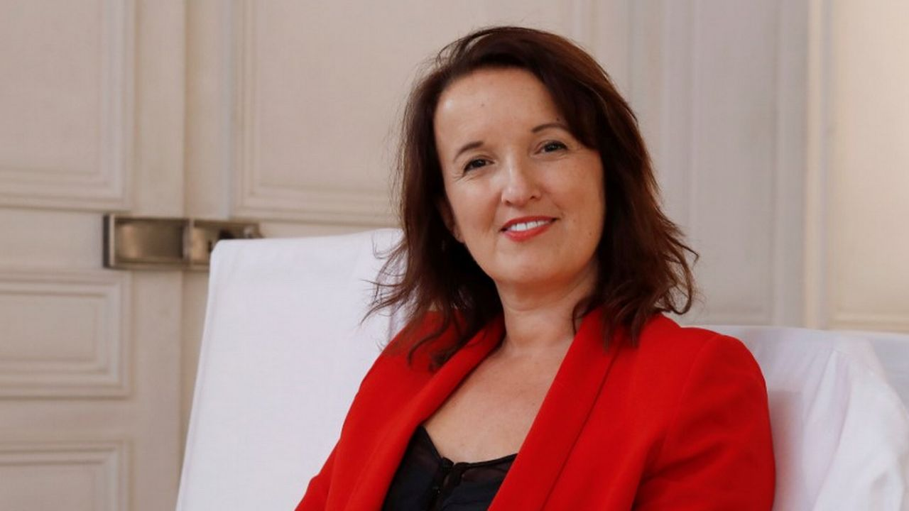 Anne Roumanoff, humoriste, le 25 octobre 2017. [François Guillot - AFP]