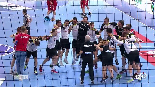 Handball: malgré une défaite en Serbie, la Suisse est qualifiée pour l'Euro 2020 [RTS]