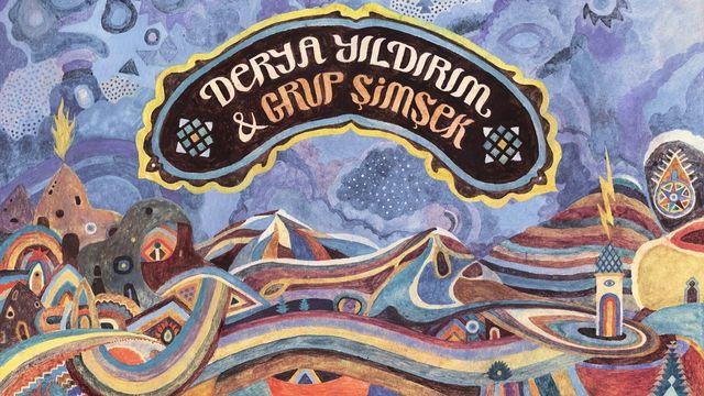 """La pochette de l'album """"Kar Yağar"""" de Derya Yildirim & Grup Şimşek. Bongo Joe Records [Bongo Joe Records]"""