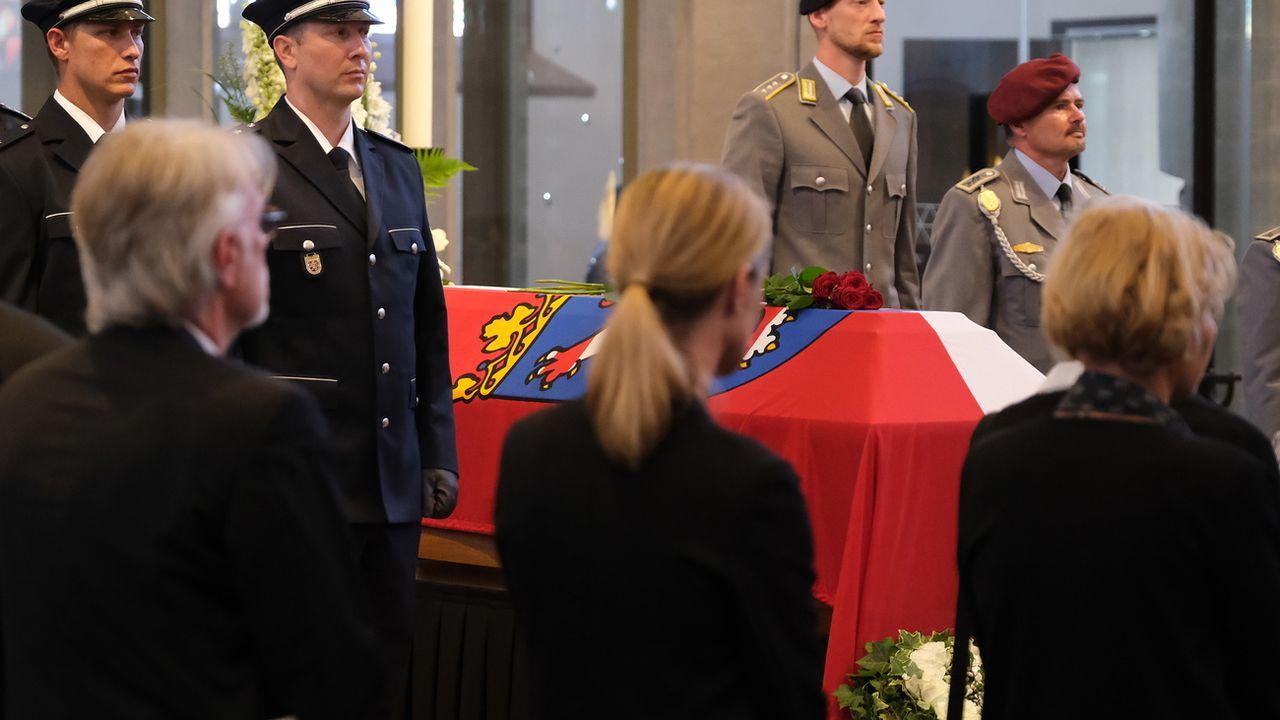 Le meurtre de l'élu Walter Lübcke a créé un choc en Allemagne. [Sean Gallup - Keystone ]