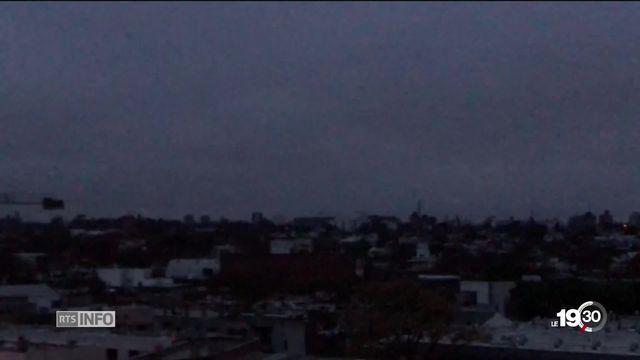 Argentine: le pays entier a été privé d'électricité durant plusieurs heures. [RTS]