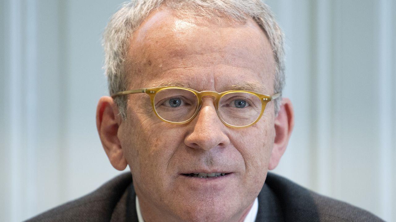 Adrian Lobsiger a présenté son bilan 2018-2019 mardi à Berne [Peter Schneider - KEYSTONE]
