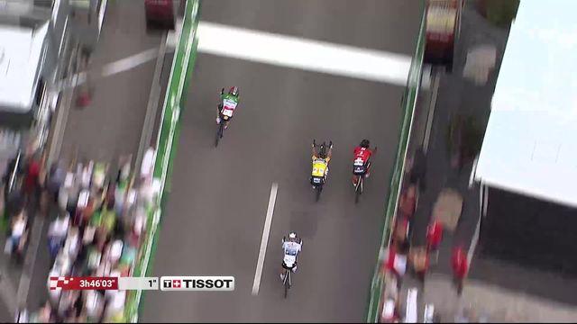 Morat - Arlesheim (SUI), 4e étape: victoire de Viviani (ITA) devant Matthews (AUS) et Sagan (SVK) [RTS]
