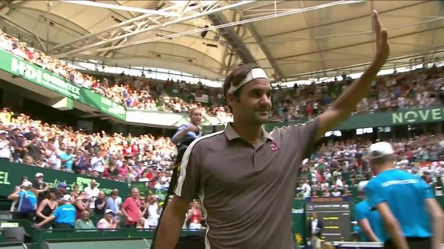 ATP Halle, 1-16e, R.Federer (SUI) - R.Millman (AUS) (7-6, 6-3): Federer s'impose en deux sets [RTS]