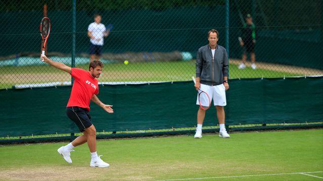 Wimbledon est le seul tournoi du Grand Chelem qui manque au palmarès de Wawrinka. [Richard Martin - Freshfocus]