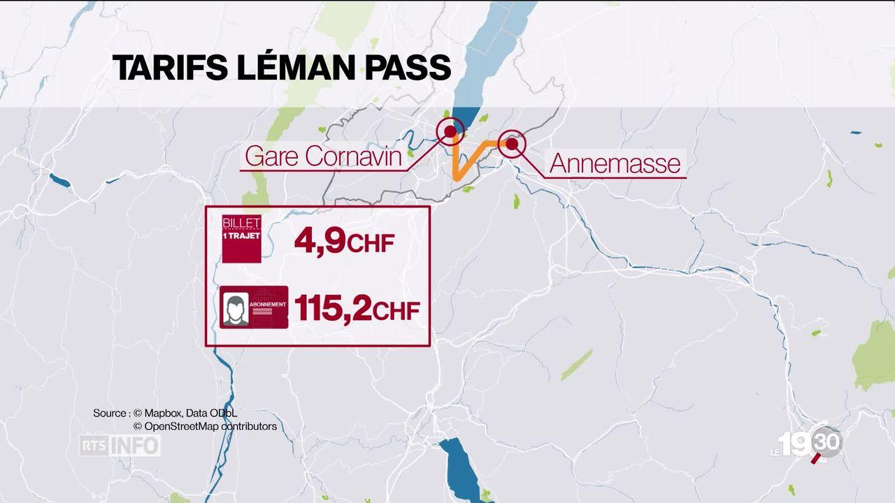 Le voile est levé sur les tarifs du futur Léman Express [RTS]