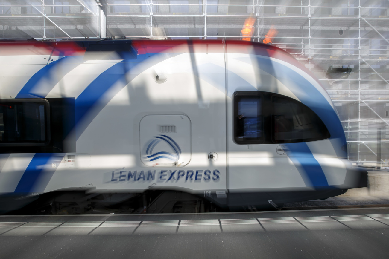 Le Léman Express, le plus grand réseau transfrontalier d'Europe.