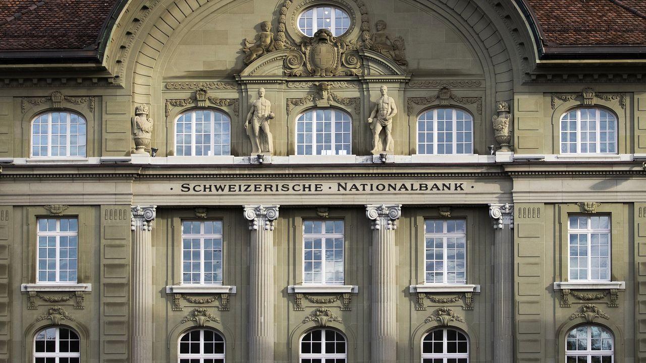 La façade de la BNS à Berne. [Peter Klaunzer - Keystone]