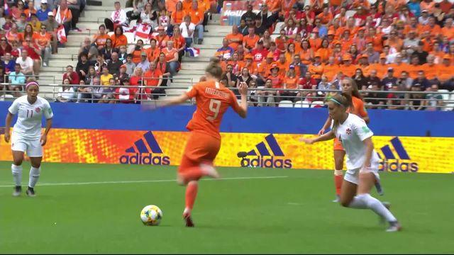 Gr.E, Pays-Bas - Canada (2-1): les meilleurs moments du match [RTS]