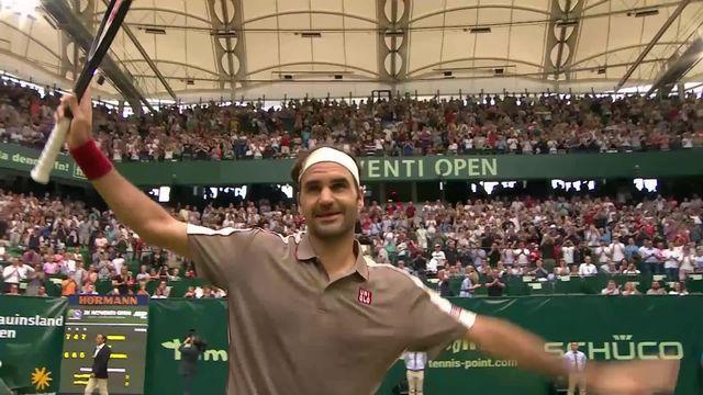 ATP Halle, 1-8e, R.Federer (SUI) - J.-W. Tsonga (FRA) (7-6, 4-6, 6-4): Federer affrontera Bautista (ESP) en 1-4 [RTS]
