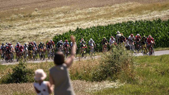 Le Tour de France 2018. [Marco Bertorello - AFP]
