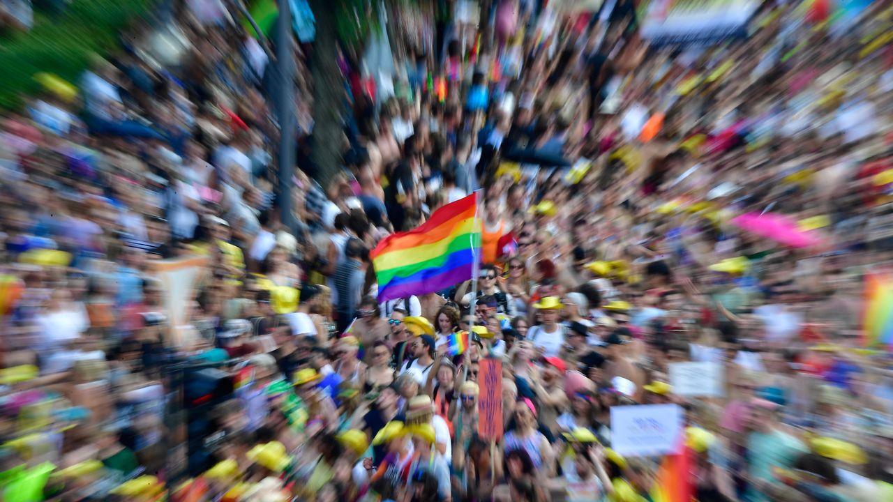 50 ans de Stonewall: le mouvement libérateur qui a vu naître la Gay Pride [Tobias SCHWARZ - AFP]