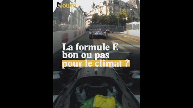 Une Formule E pas si verte [RTS]