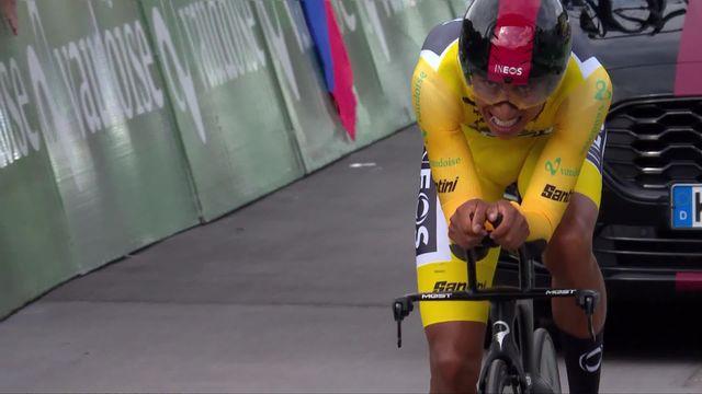 Goms – Goms (SUI), 8e étape: Bernal (COL) conserve son maillot jaune devant Dennis (AUS) [RTS]