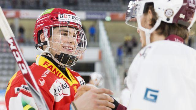 Nussbaumer est le seul suisse à avoir été drafté cettte année. [Cyril Zingaro - Keystone]