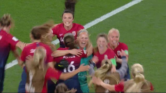 1-8e, Norvège – Australie (1-1, 4-1 tb): la Norvège s'impose aux tirs au but [RTS]