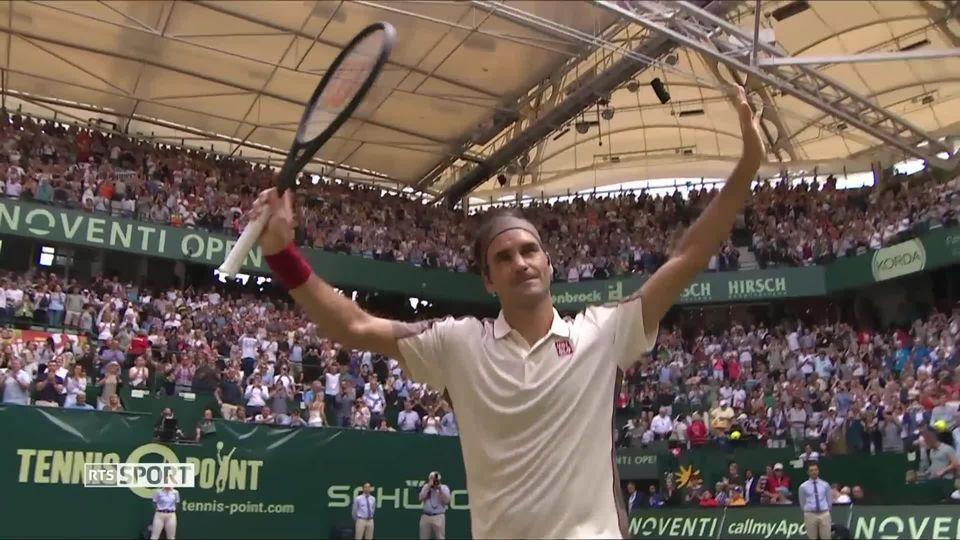 ATP Halle, 1-2, R.Federer (SUI) – P.H.Herbert (FRA) (6-3, 6-3): impérial sur son service, Federer jouera pour un dixième titre à Halle [RTS]