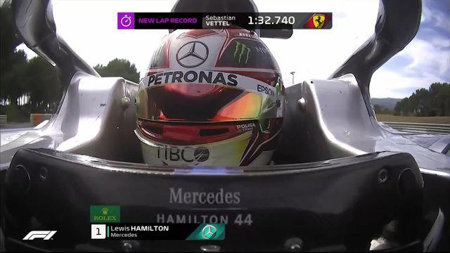 GP de France (#8): victoire d'Hamilton (GBR) devant Bottas (FIN) 2e et Leclerc (MON) 3e [RTS]
